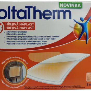 55cdec899956 VoltaTherm hrejivá náplasť na úľavu od bolesti 1×5 ks